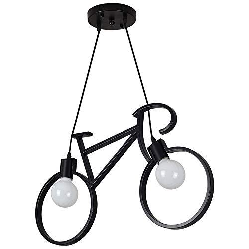 LED Chandelier Iron Art Bicycle Chandelier E27Adjustable ...
