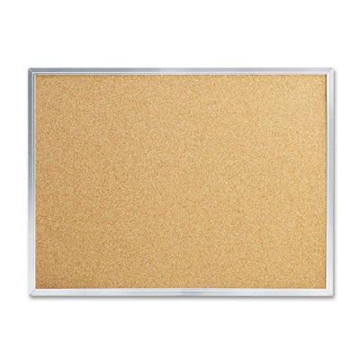 Quartet - Cork Bulletin Board, 24 x 18, Aluminum Frame ()