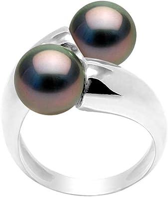 bague solitaire perle de tahiti
