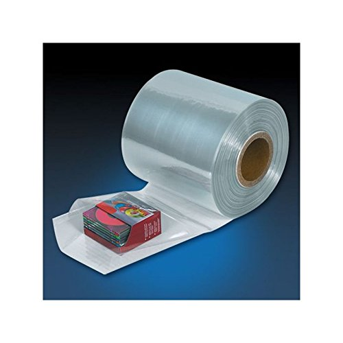 Box Packaging PVC Shrink Tubing Roll, 100 Gallon, 12'' x 1,500' 1 Roll/Case by Box Packaging