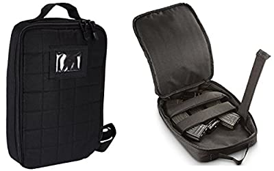 Ultimate Arms Gear Ruger 10/22 10-22 Mini 14 30 SR-556 SR-22 Rifle Tactical Black Utility Multi Purpose MOLLE Magazine Padded Protective Mag Carrier Pouch Shoulder Strap Messenger Bag Case