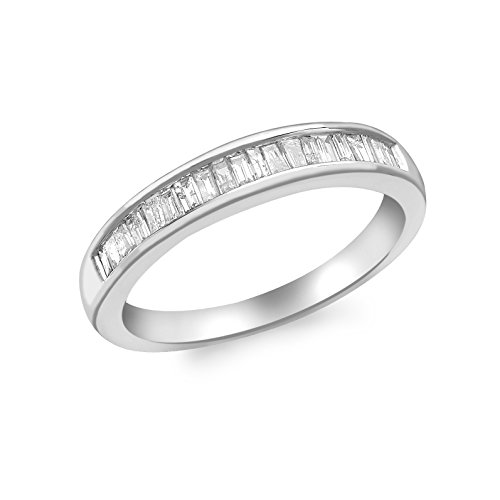 Carissima Gold - Bague - Or blanc 9 cts - Diamant 0.3 cts - T56 - 5.47.6080