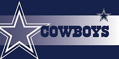 NFL Dallas Cowboys Sassafras Decorative Floor Mat Insert, Small, Multicolored