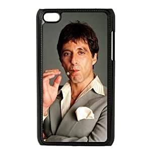 Al Pacino Scarface iPod Touch 4 Case Black Exquisite designs Phone Case TF752429