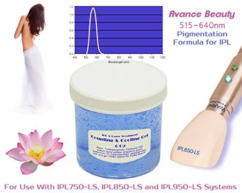 Pigmentation Formula 515-640nm Filter Cooling and Coupling Gel for Laser and IPL Machines, Systems, Devices