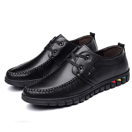 Shoes Ocio Cómodo Y Negro Súper Oxford Casual men's Xhd Formales Ligero Cordones Moda Masculina Suave 5vw0ZnxI