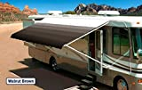 Innova RV Vinyl Awning Replacement Fabric - Walnut Brown 19' (Fabric 18'2'')