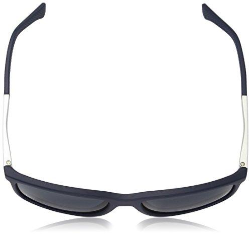 Emporio Armani Unisex Sonnenbrille, Blau (Blue Rubber 547487), Large (Herstellergröße: 58) 4