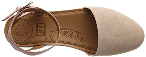 Strap Dusty fitflop Toe Womens Closed Cova Sandals Toning Pink vXwrv0q