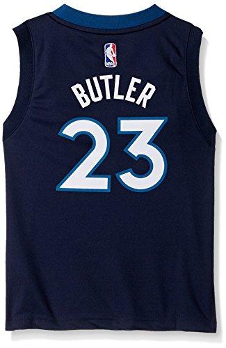 Replica Jersey Nba - Outerstuff NBA Minnesota Timberwolves-Butler Kids Replica Player Jersey-Road, Medium(5-6), Capital Blue