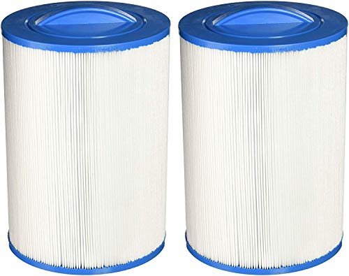 Guardian Filtration Products 2 Pack - New Spa Filter Cartridges Fit: UNICEL 6CH-940-FILBUR FC-0359-Pleatco PWW50P3 ()