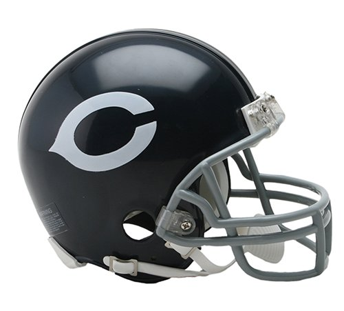 Chicago Bears 1962-73 Throwback NFL Riddell Replica Mini Helmet