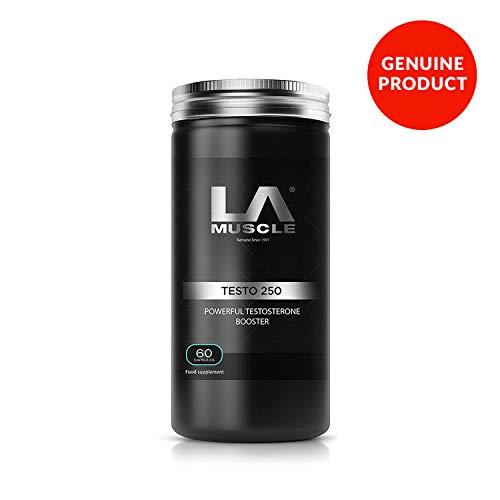 LA Muscle Testorone 250 | Natural Testosterone Booster | Lean Muscle &...