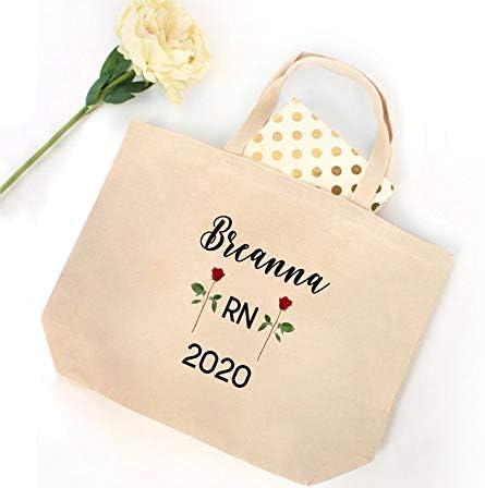 Bolsa para enfermera con nombre personalizado 2020, bolsa para enfermeras, regalo de graduación de enfermeras, bolsa de regalo para enfermeras, enfermeras, regalo para estudiantes de enfermería
