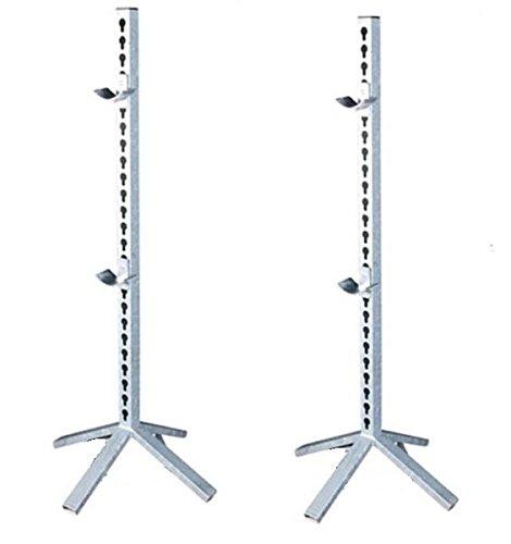 2 Stück Hindernisständer Pacourständer Turnierständer Sprung Ständer verzinkt