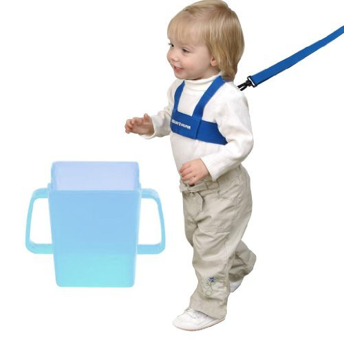 Mommy's Helper Kid Keeper and Juice Box Buddy, Blue by Mommy
