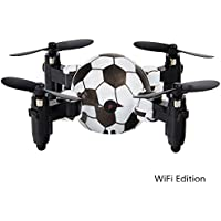 Jinger Remote Control HD WIFI Camera Watch Four-axis Football Folding Aircraft