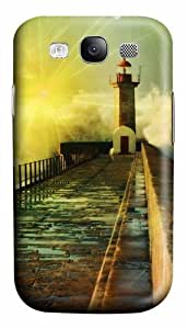 3D Fantasy Road Custom Polycarbonate Hard Case Cover for Samsung Galaxy S3 SIII I9300