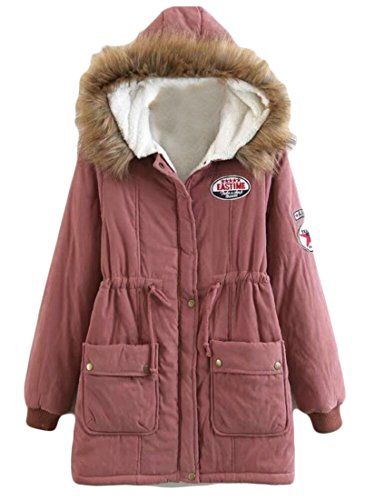 with Trimmed 3 Anorak Coat amp;W M Hood amp;S Faux Fur Parka Women's 7qzYwP
