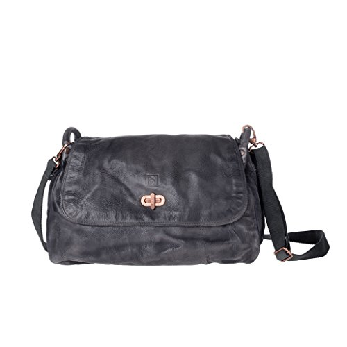 DuDu Women's Shoulder black Size Bag One DuDu Women's Black 5OqxWw7OZf