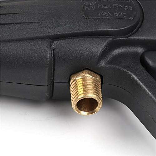 augw0q80i Pistolet de pulv/érisation de laveuse /à Haute Pression Eau de Lavage de g/âchette de Lance-Jet de 120 Bars et tuyaux de 5 m