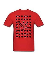 Hocoo Unisex Kids Cotton Tee Love Dog T-Shirt 6M-24M