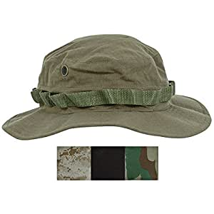 Liberty Mountain Boonie Hat (Black, Large/7.5-Inch)