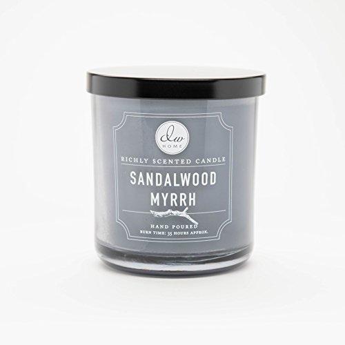(DW Home Medium Single Wick Candle, Sandalwood Myrrh )