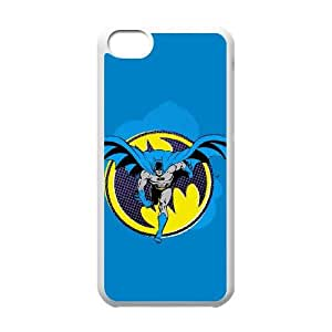Batman Ready to Fight iPhone 5c Cell Phone Case White DIY GIFT pp001_8996560