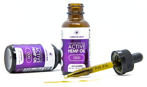 Complete Hemp Complete Spectrum Active Hemp Oil 1,500 | Organic and Clean | Can Support Stress, Anxiety, Inflammation, Pain and More | Super-Critical CO2 Hemp Extract | 3rd Party ISO Tested | 50mg/mL by Complete Hemp (Image #3)