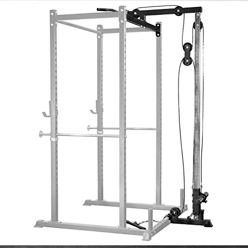 Rep LAT Pull Down/Low Row Accessory for 1000 Series Power Racks - Attachment for PR-1100 and PR-1000 Weight Cages
