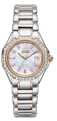 Citizen Women's EW2096-57D The Signature Collection Eco-Drive Octavia Diamond - Drive Bangle Bracelet Ladies Eco