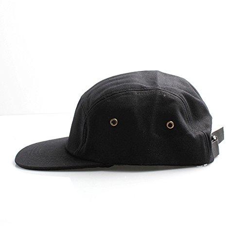 para 7X Hombre única béisbol Negro Gorra de Negro Talla tOwqO7
