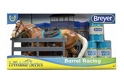 Breyer Barrel Racing Horse Toy, Multicolor]()