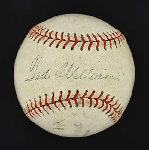 Ted Williams Signed Ball - Circa 1950 Vintage Single #Y68251 - JSA Certified - Autographed Baseballs