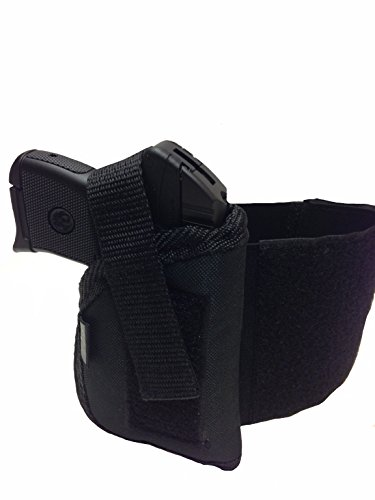 Holster Series Ankle Pro (Nylon Ankle Gun Holster fits Sig Sauer P-250 Pro Series, 239 with 3.86