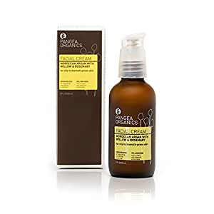 Pangea Organics Facial Cream: Moroccan Argan with Willow & Rosemary - for Oily to Blemish-Prone skin - 60ml