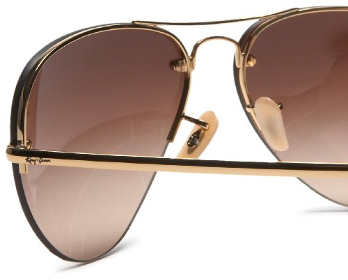 b190b564f9 Amazon.com  Ray-Ban RB3449 - ARISTA Frame BROWN GRADIENT Lenses 59mm Non- Polarized  Ray-Ban  Clothing