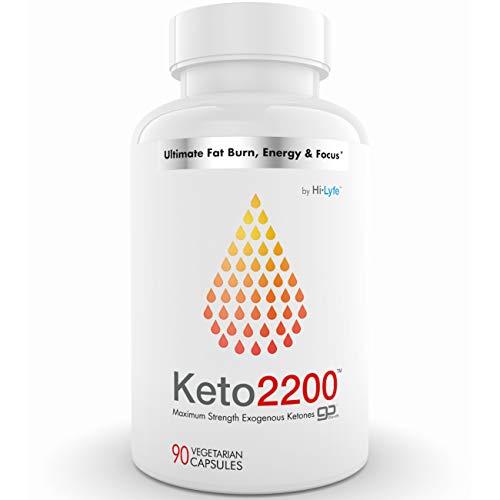 Keto Fat Burner Beta-Hydroxybutyrate | 2400mg BHB or 3X Shark Tank Keto Diet Pills Formula | Burn Fat, Enter Perfect Ketosis, Enhance Mental Focus | Premium Weight Loss Supplement | 90 Capsules