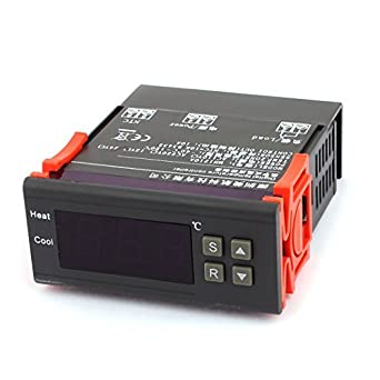 12V regolatore di temperatura eDealMax DC 10 Amp centigradi C Digitale con sensore termostato