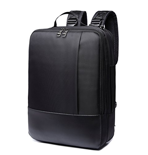 ZIXER Slim 3 in 1 Water Resistant Multifunctional Business Professional and College School Student Backpack Daypack Fits 15.6