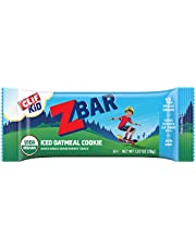 CLIF KID ZBAR - Organic Granola Bars - Iced Oatmeal Cookie - Non-GMO - Organic -Lunch Box Snacks (1.27 Ounce Energy Bars, 18 Count)