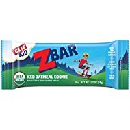 CLIF KID ZBAR - Organic Granola Bars - Iced Oatmeal Cookie - (1.27 Ounce Energy Bars, Kids Snacks, 18 Count)