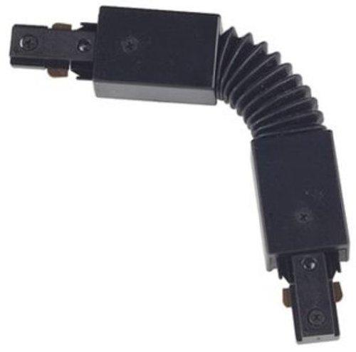 Juno Lighting R20BL Flexible Adjustable Connector, Black