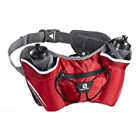 Salomon Twin Belt Bag, OSFA (Bright Red/Iron)