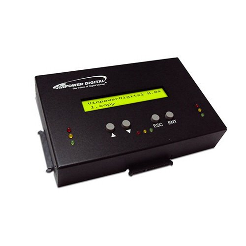 Vinpower Digital HDDMINI 1 to 2 Standalone SATA Hard Drive HDD Duplicator by Vinpower Digital