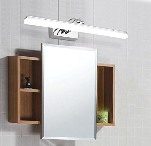 MJJ- Espejo de Baño con Iluminación LED Mirror Front Lamp Led Bathroom Mirror Cabinet Mirror Lamp Lámpara de maquillaje Modern Anti-fog Wall lamp 【Nivel de energía A +】 (Color : B)