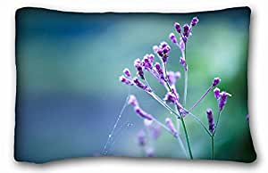 Custom Cotton & Polyester Soft Animal Custom Cotton & Polyester Soft Rectangle Pillow Case Cover 20x30 inches (One Side) suitable for Twin-bed