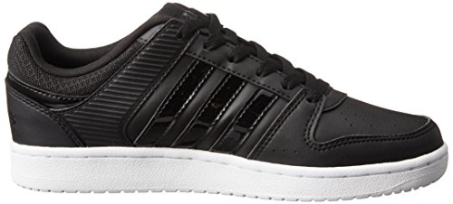 adidas VS HOOPSTER W - Zapatillas deportivas para Mujer, Negro - (NEGBAS/NEGBAS/FTWBLA) 36 2/3