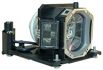 Supermait DT01141 Lámpara de Repuesto para proyector con Carcasa ...